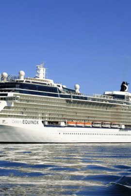 Celebrity Equinox Cruise Ship with MJM Group