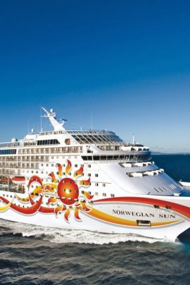 Norwegian Sun Cruise Ship with MJM Group